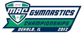 MAC Gymnastics Championships 2012 logo