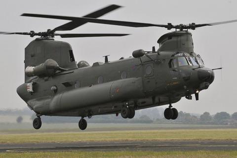U S  Army Chinook heli...