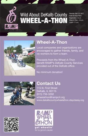 Wheel-A-Thon poster