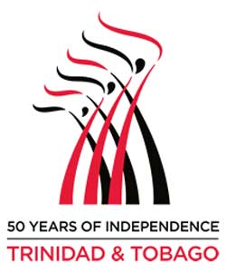 Logo: 50 Years of Independence - Trinidad & Tobago