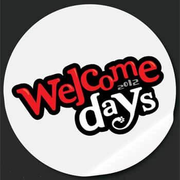 Welcome Days 2012 logo