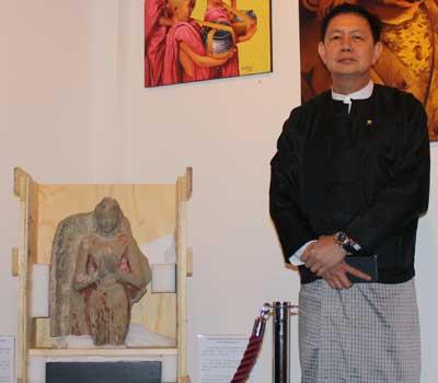 Burmese Ambassador in Paris HE U Kyaw Zwar Minn