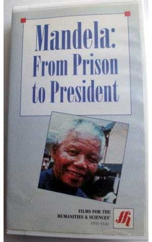 "Film cover of ""Mandela: From Prison to President"""