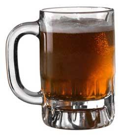 Photo of a mug of beer