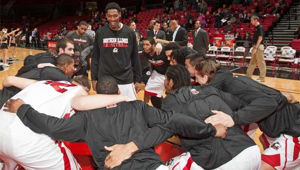 NIU men's basketball team