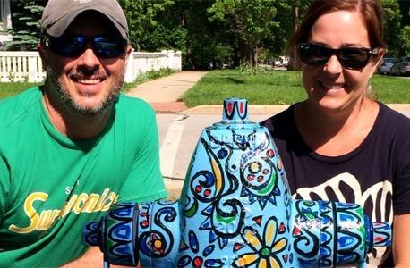 Eric Pairitz and NIU alumna Michelle Pairitz