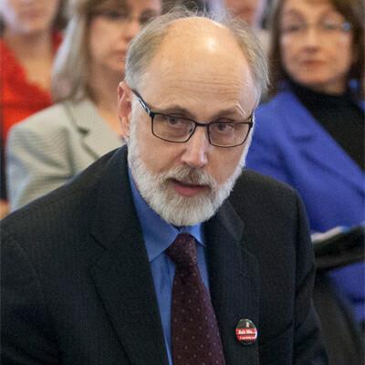 NIU President Doug Baker