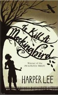 "Book cover of ""To Kill a Mockingbird"""