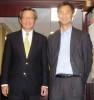 Morse Tan with South Korean Ambassador Y.J. Choi