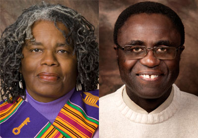 LaVerne Gyant and Charles Ogundipe
