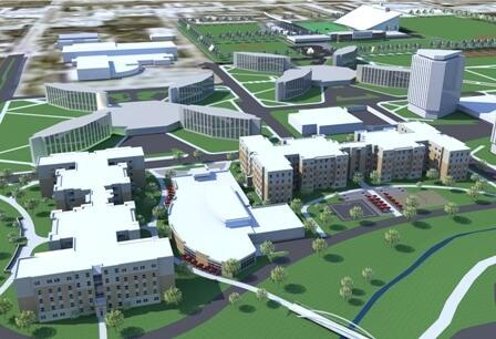 """NIU First-Year residence Hall"""