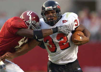 Michael Turner vs. #21 Alabama in 2003