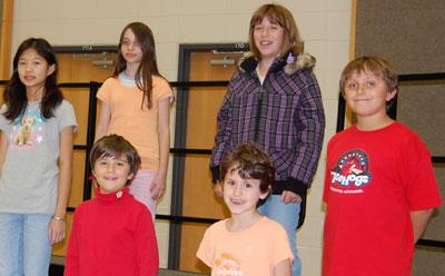 """CSA children's choir"""