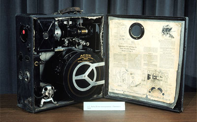Photo of Acme 35mm movie projector