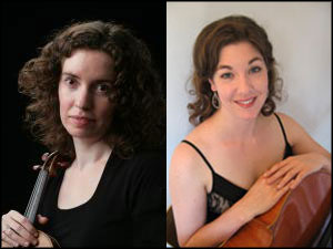 Duo XXI - Anna Cromwell (left) and Mira Frisch