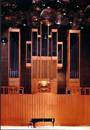 NIU's Martin Ott Pipe Organ