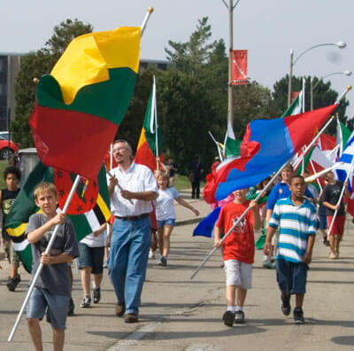 Parade of Flags