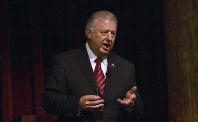 NIU President John Peters