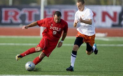 Huskie men's soccer