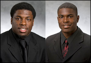Chad Spann and Jimmie Ward