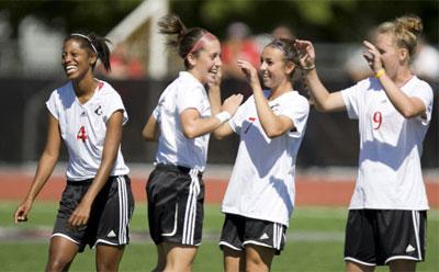 Huskie women's soccer