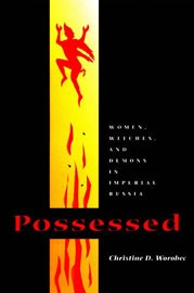 "Book cover of Christine Worobec's ""Possessed"""