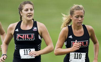 NIU Huskies cross country