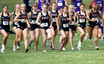Huskies women's cross country