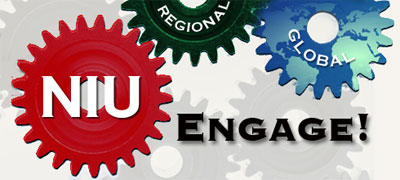 NIU Engage! logo