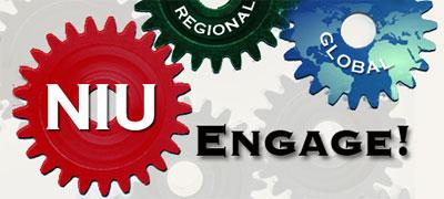 NIU Engage! logo