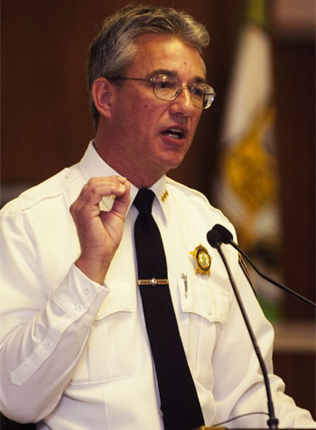 DeKalb Police Chief Bill Feithen