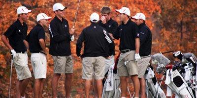 Huskies men's golf team