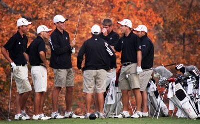 Huskies men's golf team