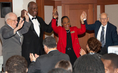Hubie Dunn, Willie J. Kimmons, LaVonne Neal and Francis Stroup