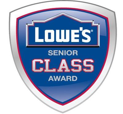 Lowe's Senior CLASS Award logo