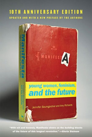 "Book cover for ""Manifesta: young women, feminism, and the future"""
