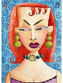 A watercolor by Manuel Pardo