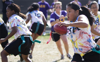 Powder Puff Football Game 2010