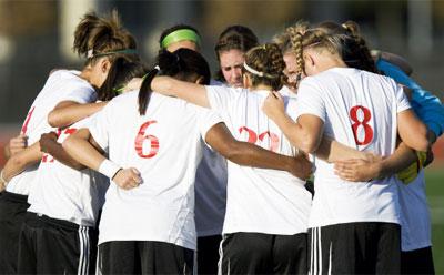 Huskies women's soccer team