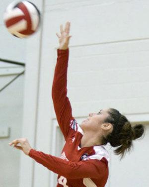 NIU Huskies volleyball