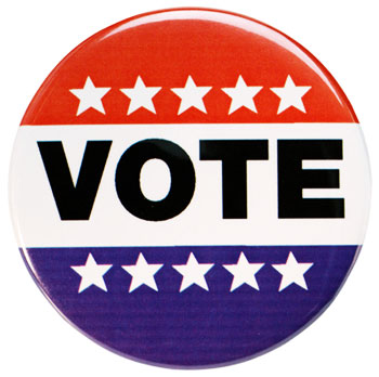 Photo of VOTE button