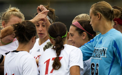 Huskies women's soccer team