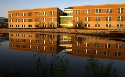 Barsema Hall, home of the NIU College of Business