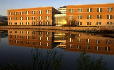 Barsema Hall, home of the NIU College of Business