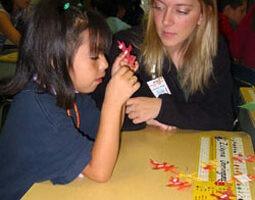 A 2005 photo from NIU's Project ROAR at Littlejohn Elementary School