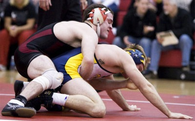 Huskie wrestling