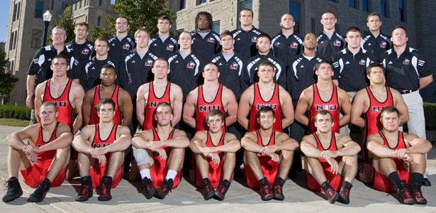 Huskies wrestling team