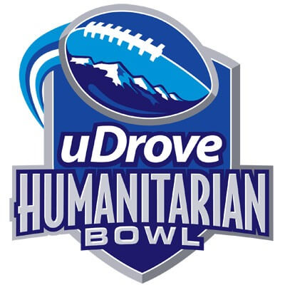 Logo of the uDrove Humanitarian Bowl