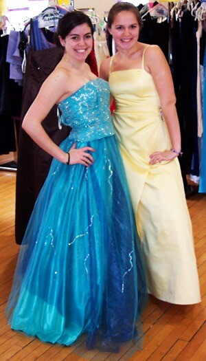 Lauren Sikes and Michelle Lombardo