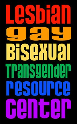 Lesbian, Gay, Bisexual, Transgender Resource Center logo
